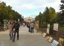 Nationaal Theater in Iasi Royalty-vrije Stock Afbeelding