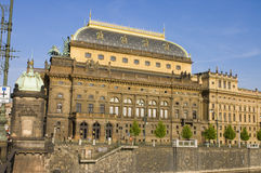 Nationaal Theater, Praag royalty-vrije stock afbeeldingen