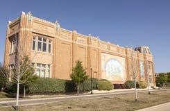 Nationaal Veedrijfstermuseum in Fort Worth, Texas, de V.S. Stock Foto