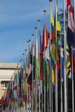 Nationaal vlaggenalbum Royalty-vrije Stock Afbeeldingen