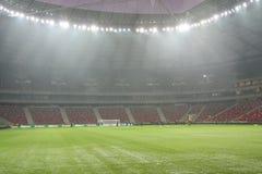 Nationaal voetbalstadion Stock Foto's