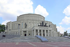 The National Academic Bolshoi Theatre of Opera and Ballet of the Royalty Free Stock Photo