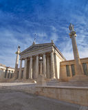 The national academy, Athens Greece Stock Photos