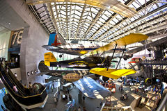 National Air and Space museum Royalty Free Stock Images