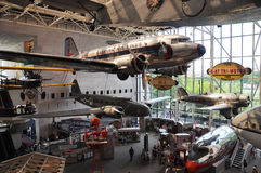 National Air and Space Museum in Washington Stock Photo
