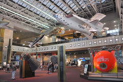 National Air and Space Museum in Washington Royalty Free Stock Photo