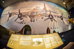 National air and space museum. Washington d.s. us fisheye Stock Photo