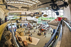 National air and space museum. Washington d.s. us fisheye Stock Photos