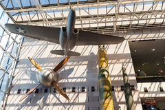 National Air and Space museum in Washington DC interior Royalty Free Stock Images