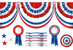 National American symbolics Royalty Free Stock Photography