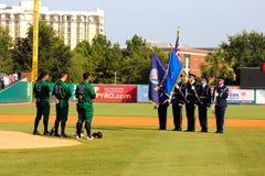 National Anthem at Joseph P. Riley Stadium. Stock Photos