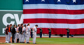 National Anthem. Stock Photography
