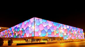 National Aquatics Center�Water Cube� Royalty Free Stock Photos
