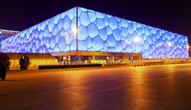 National Aquatics Center�Water Cube� Stock Photo