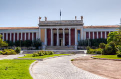 National Archaeological Museum, Athens, Greece. Facade of the National Archaeological Museum, Athens, Greece Royalty Free Stock Photography