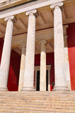 National Archaeological Museum in Athens , Greece. Colonnade at Royalty Free Stock Photography