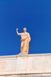 National Archaeological Museum in Athens , Greece . Sculpture on Royalty Free Stock Photo