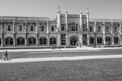 National Archaeology Museum and Maritime museum in Lisbon Belem - LISBON / PORTUGAL - JUNE 14, 2017. National Archaeology Museum and Maritime museum in Lisbon Royalty Free Stock Photo