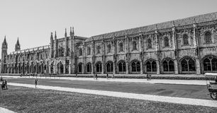 National Archaeology Museum and Maritime museum in Lisbon Belem - LISBON / PORTUGAL - JUNE 14, 2017. National Archaeology Museum and Maritime museum in Lisbon Royalty Free Stock Image