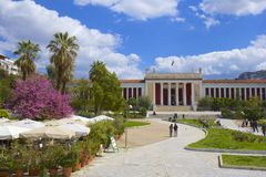 National Archeological museum in Athens, Greece Royalty Free Stock Photos