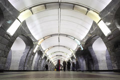 National architecture monument - metro station Royalty Free Stock Photo