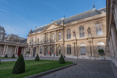 National archive monument in Paris Royalty Free Stock Images