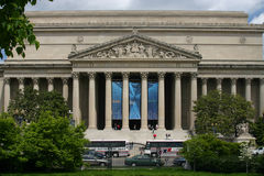 National Archives. Building in Washington, DC Stock Photos