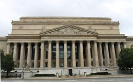 National Archives Building Stock Photo