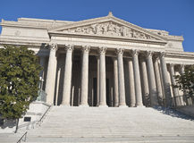 National Archives Building Washington DC. The National Archives Building in Washington DC stock images