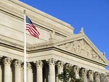 National Archives Building. In Washington DC stock image