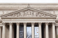 National Archives Building Washington DC Royalty Free Stock Photography