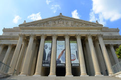 National Archives Building in Washington DC, USA Stock Image