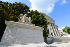 National Archives Building in Washington DC, USA Royalty Free Stock Images