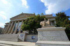 National Archives Building in Washington DC, USA Royalty Free Stock Image