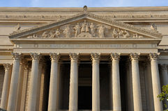 National Archives, Washington, DC. National Archives facade, Washington, DC Stock Image