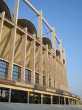 National arena stadium in Bucharest. Viewed form outside Royalty Free Stock Photos