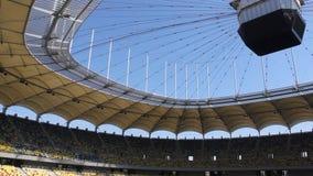 National arena stadium stock video footage