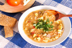 National Argentine meal of lentil Royalty Free Stock Photography