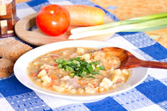 National Argentine meal Stock Image