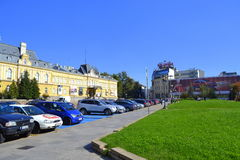 National Art Gallery square,Sofia Royalty Free Stock Image