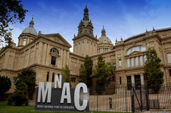 National Art Museum Barcelona Royalty Free Stock Images