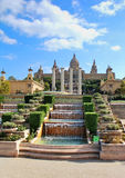 National Art Museum in Barcelona Royalty Free Stock Photo