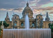 National Art Museum of Barcelona. Spain Stock Image