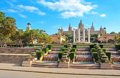 National Art Museum in Barcelona, Spain Royalty Free Stock Images