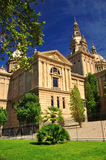 National Art Museum of Catalonia. Barcelona. Royalty Free Stock Images