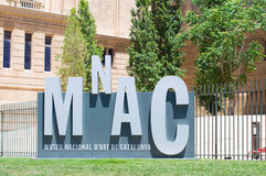 National Art Museum of Catalonia. Barcelona Royalty Free Stock Photography