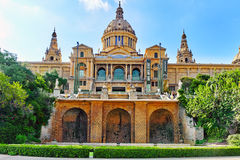 National Art Museum of Catalonia. Royalty Free Stock Images