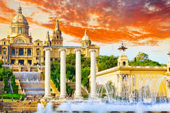 National Art Museum of Catalonia. Royalty Free Stock Photo