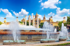 National Art Museum of Catalonia. Royalty Free Stock Image