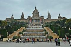 National Art Museum of Catalonia Stock Image